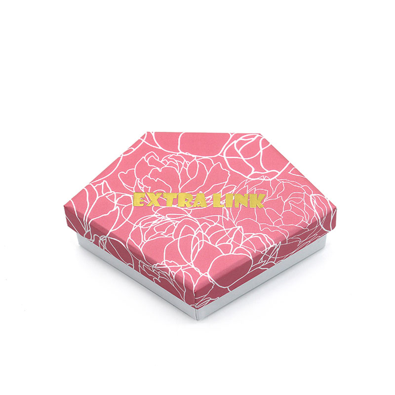 Luxury with Lid Pink Paper Storage Jewelry Wedding Gift Box