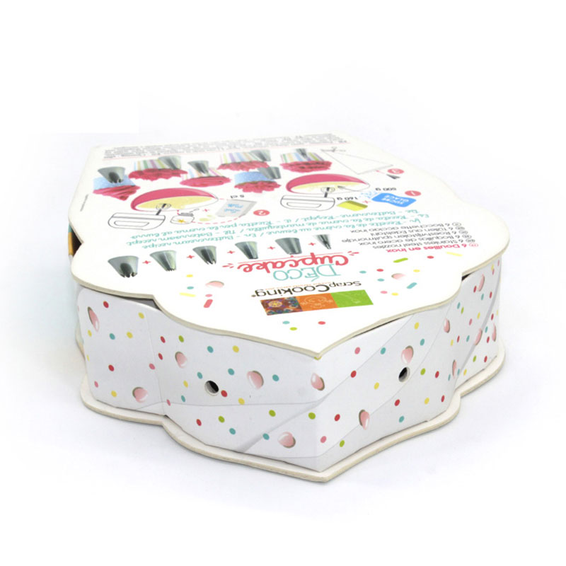 Eco-Friendly Packaging for Children Gift Custom Cupcake Box