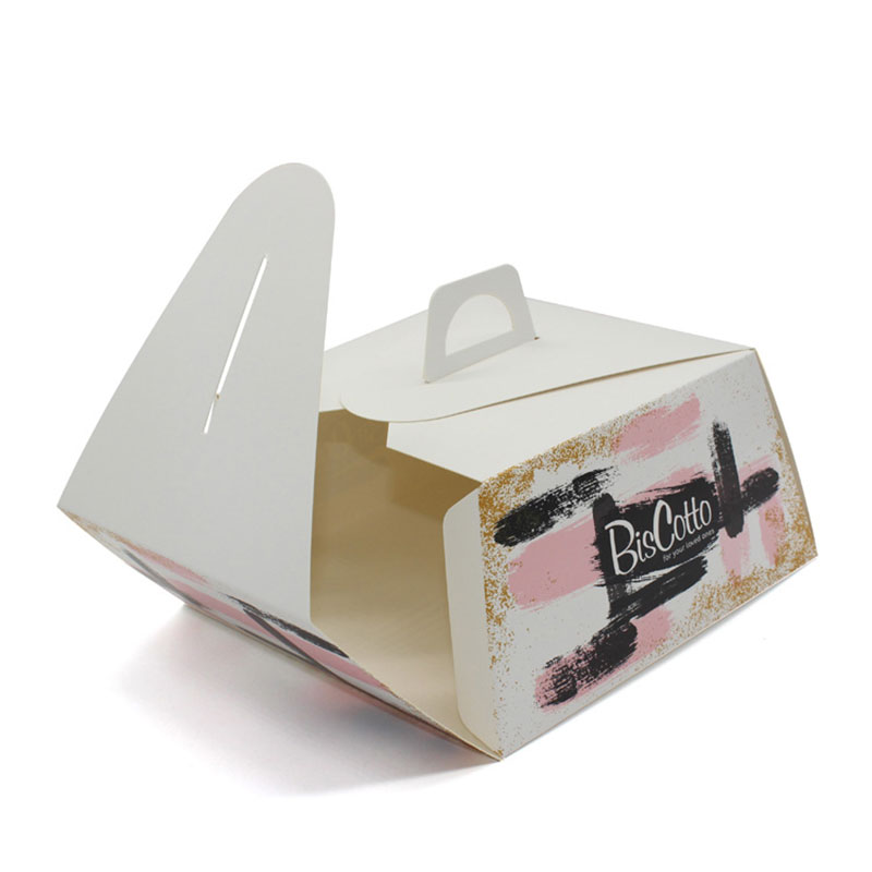 New Products Portable Small Kraft Paper Cupcake Box