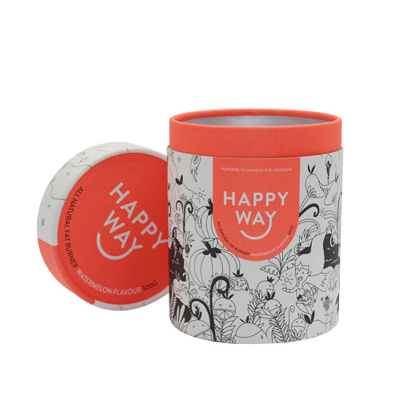 Custom Logo Top and Base Lid Paper Birthday Favors Candy Box
