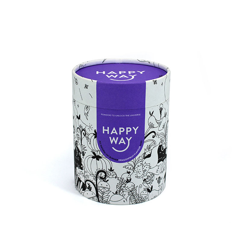 Wholesales New Style Cylinder Paper Sweet Candy Gift Box