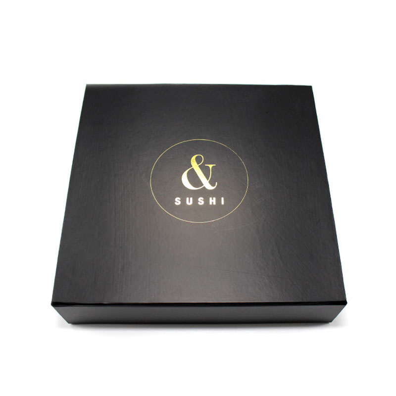 Factory Handmade Custom Design Paper Food Sushi Packaging Box