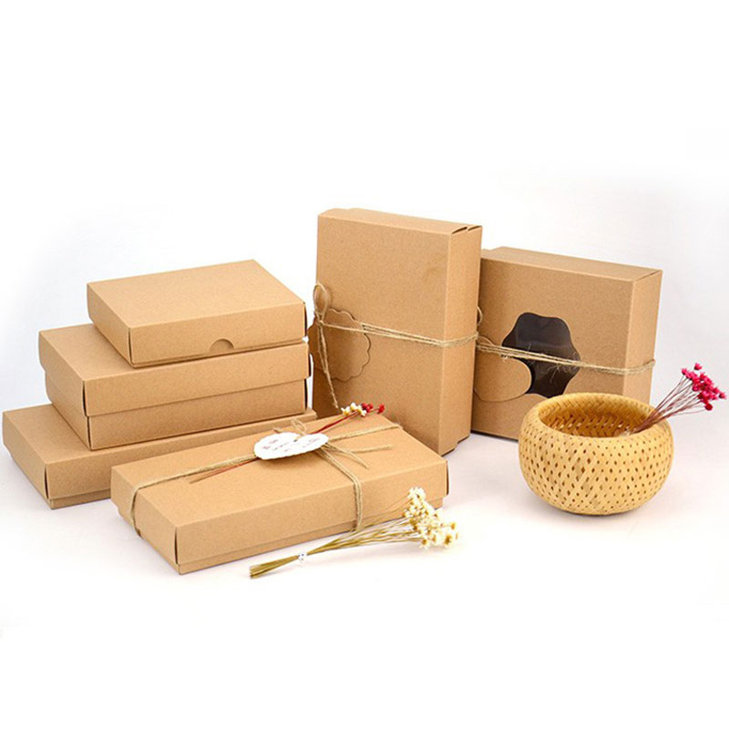 Factory Price High Quality Take Away  Kraft Paper Food Container