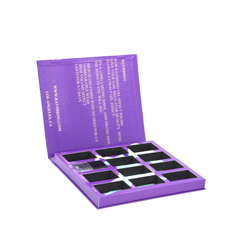 Wholesale Makeup Your Own Design Empty Eyeshadow Palette Box