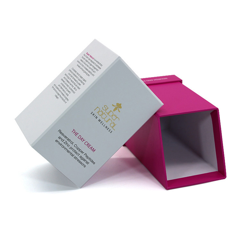 Custom Luxury Creative Paper Solid Perfume Box Packaging
