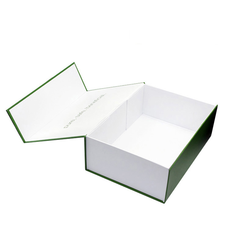 Luxury Foldable Magnetic Paper Empty Skincare Gift Box