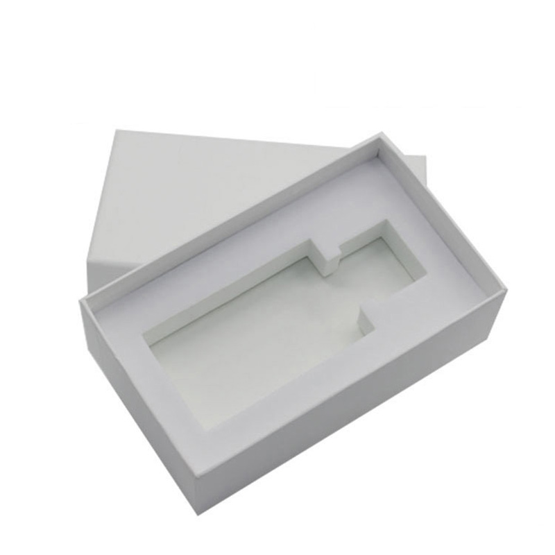 Wholesale Custom White Paper Empty Sample Perfume Boxes