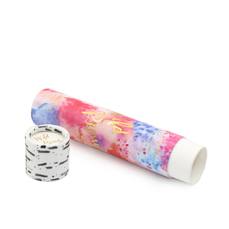 Custom Cylinder Paper Private Label Paper Lipstick Tube