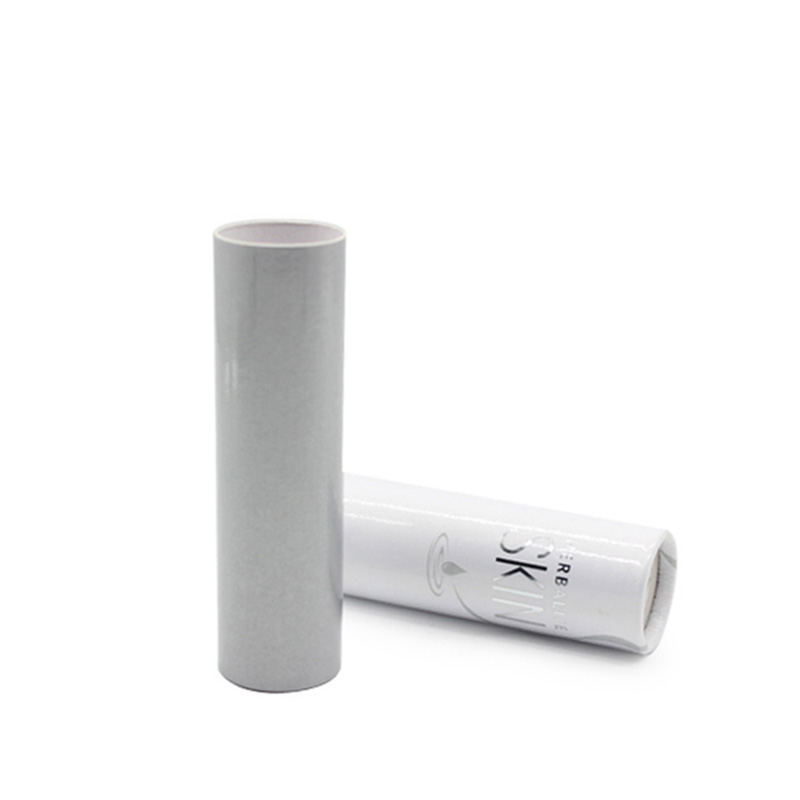 New Cylinder White Paper Cosmetic Lipstick Packaging Box