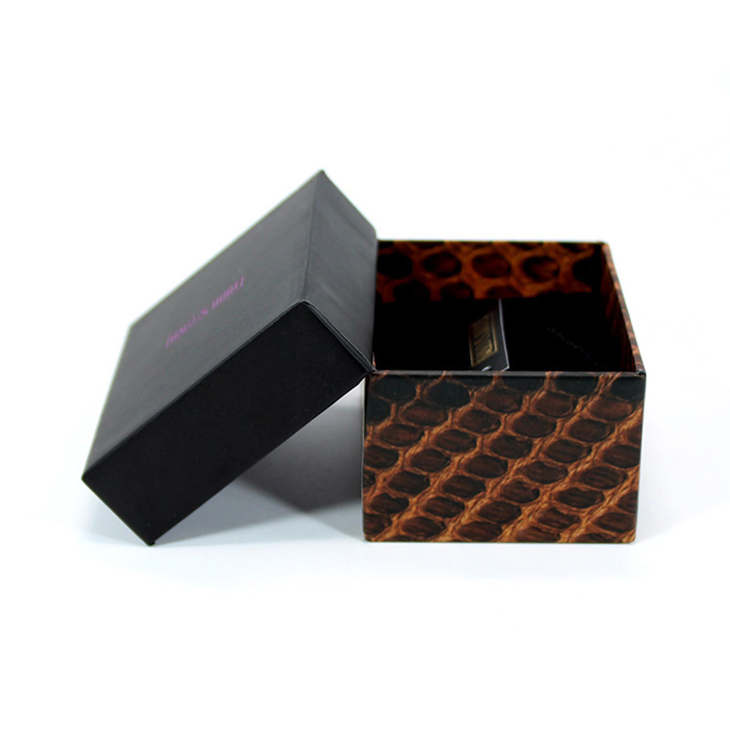Elegant Paper with Top and Bottom Lid Blister Wallet Gift Box