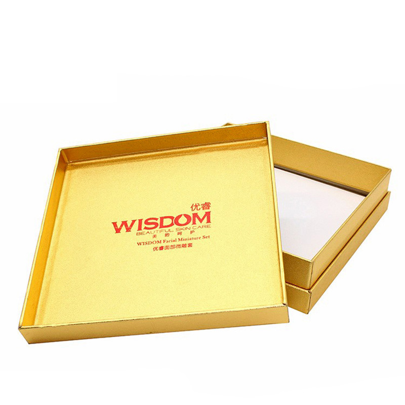 Custom Luxury with Lid Paper Storage Apparel Packaging Box