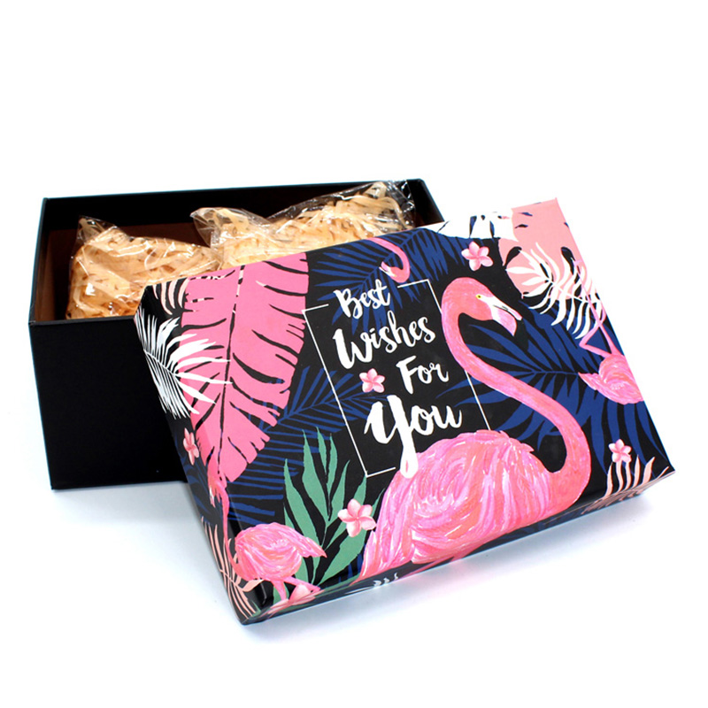 Heaven and Earth Cover Paper Fashion Packaging Boxes for Clothes