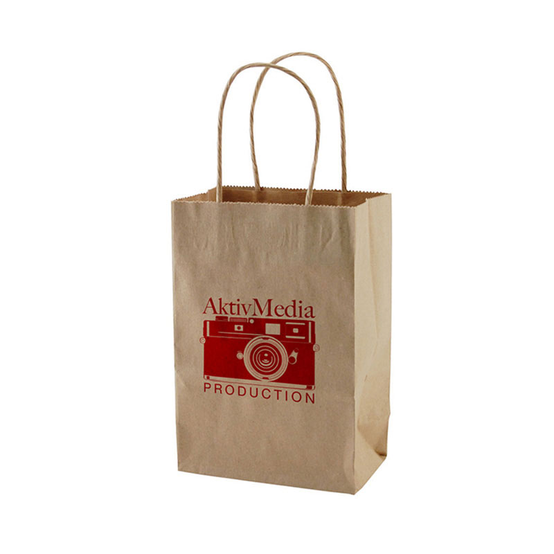 Custom with Portable Rope Food Grade Coffee Gift Bag