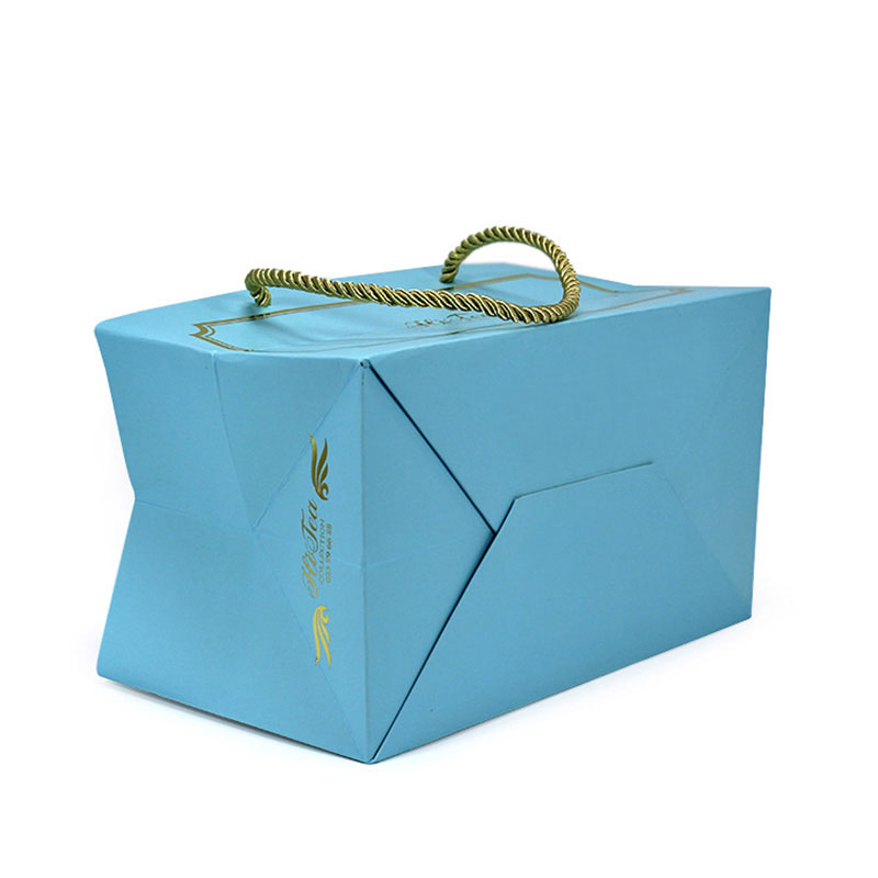 Luxury Excellent with Portable Rope Beautiful Paper Bag Handle