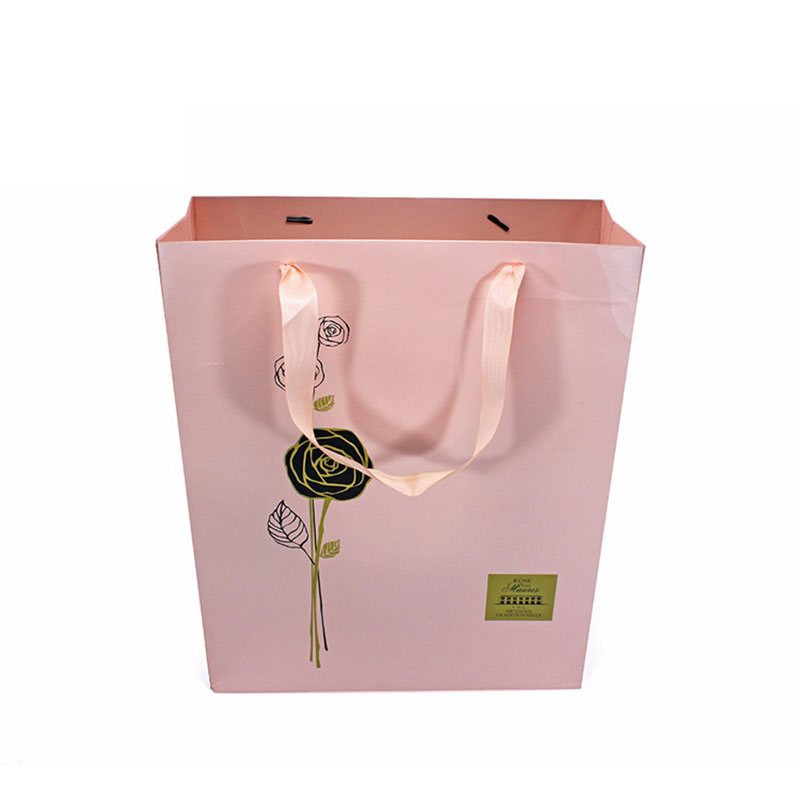 Customized Fashion Eco Friendly Paper Storage Wine Gift Bag