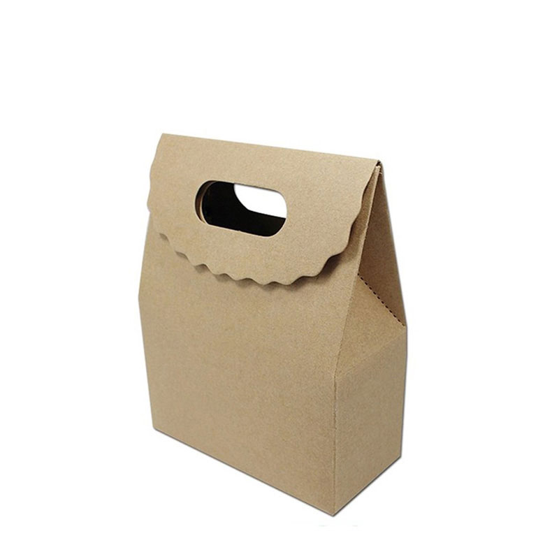 New Products Design Reusable Kraft Paper Fast Food Bag
