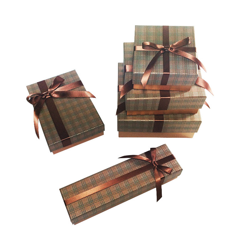 Factory Price Fancy Paper with Lid Packaging Necklace Gift Box