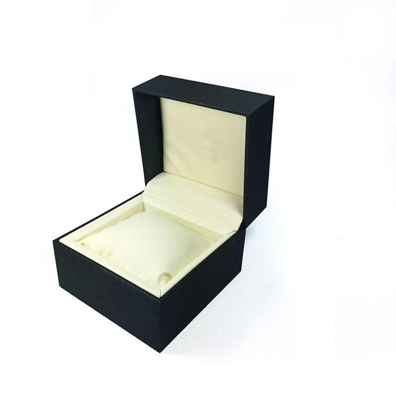 Custom with Hinge Travel Men Private Label Paper Luxury Watch Box