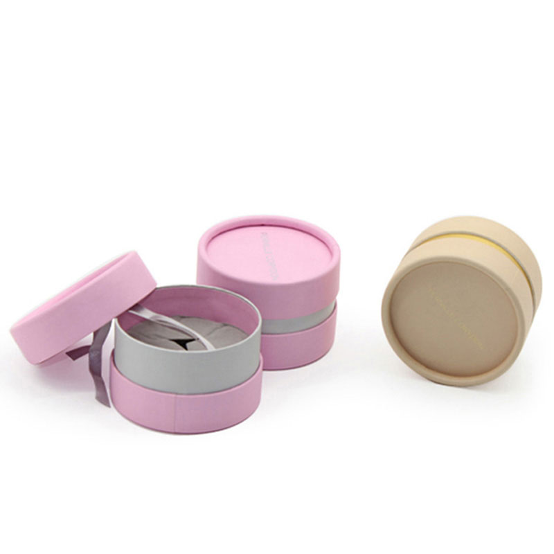 New Products Small with Lid Cylinder Paper Jewelry Earring Box