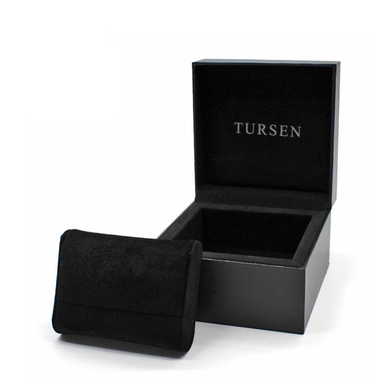 Wholesale Custom Design Logo Black Travel Watch Gift Box