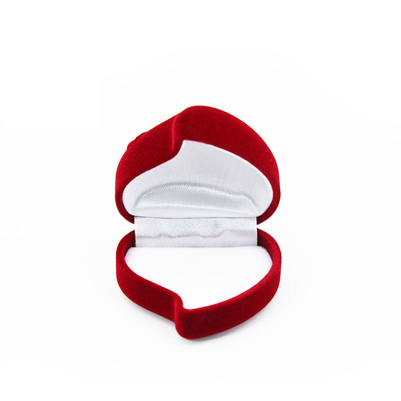 Wholesale Custom Small Special Velvet Engagement Ring Box