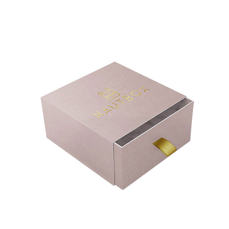 Luxury Eco Friendly Marble Paper Drawer Jewelry Gift Box