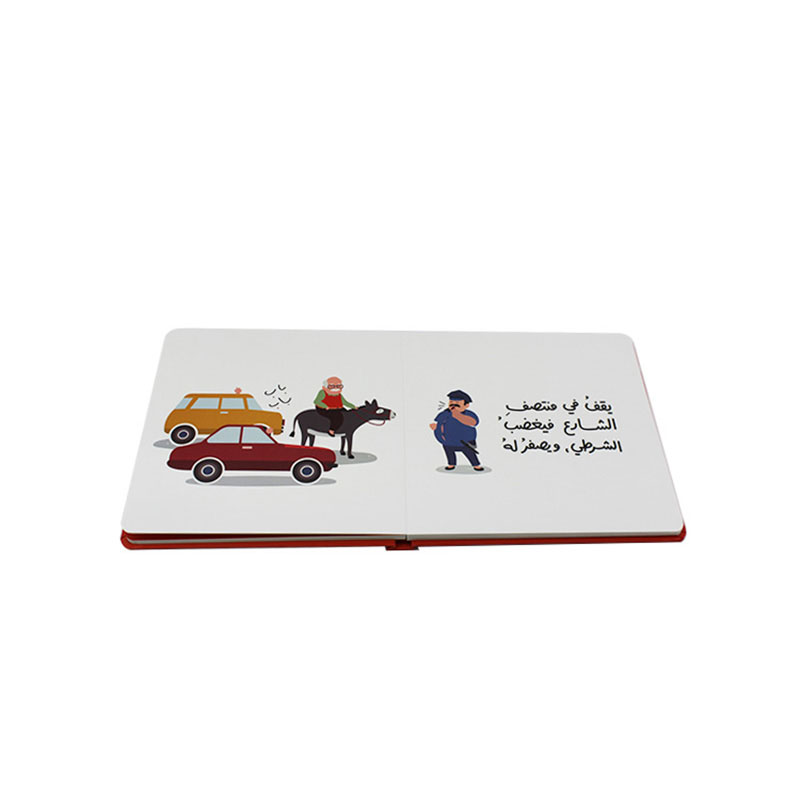Handmade Custom Hardcover Cardboard Children Comic Book Printing