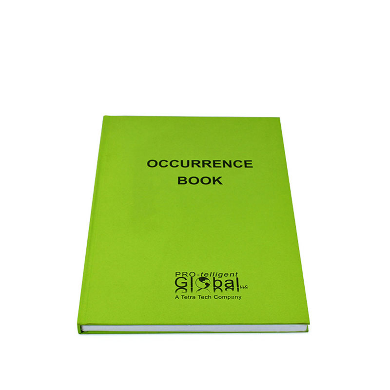 Personalized with Logo Hardcover Excise Eco Notebook Printing