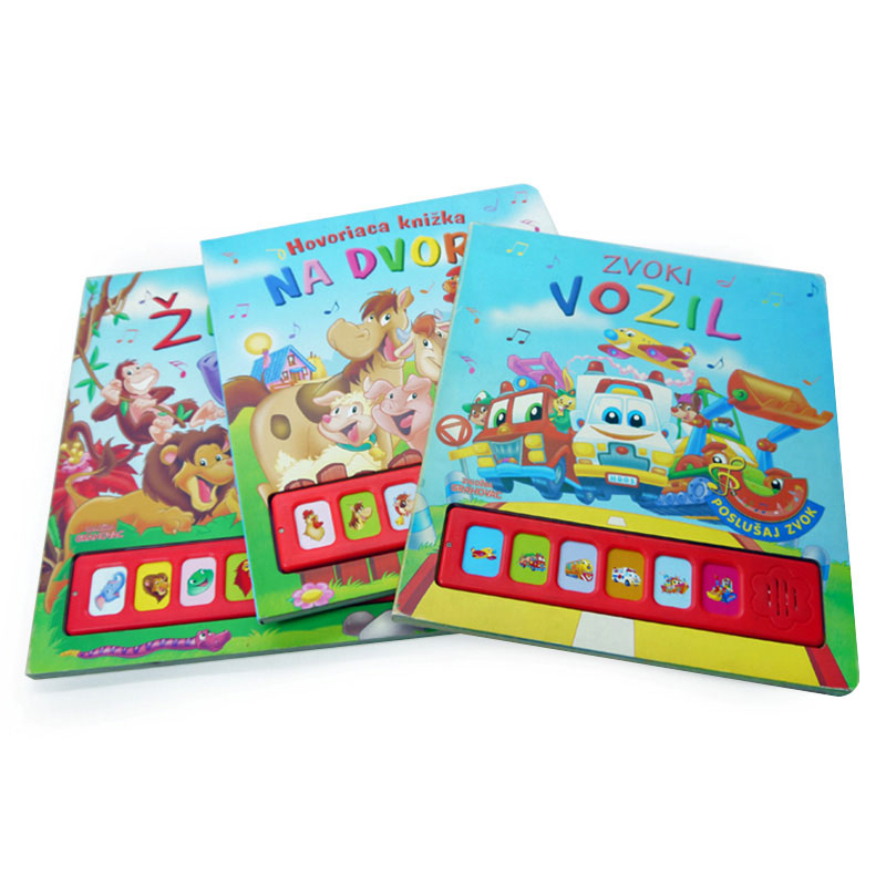 China Factory Paper Printing First Year Memory Baby Sound Book