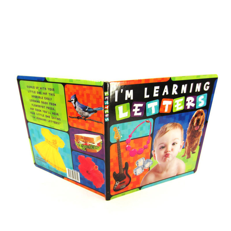 Custom Coloring Printing Hardcover First Year Baby Memory Book