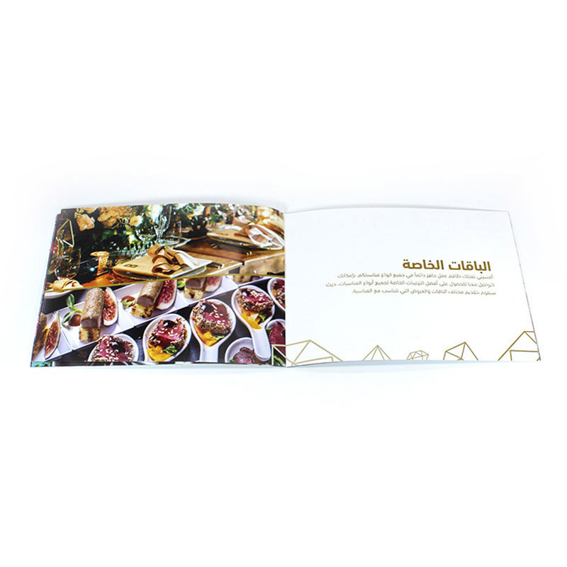 Customized Size Product Colorful Catalogue Printing Service