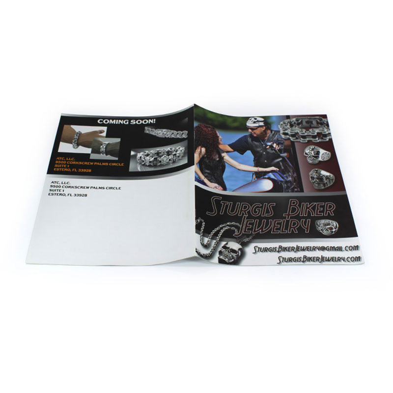 Wholesale New Design Laminated Folding Brochure Printing
