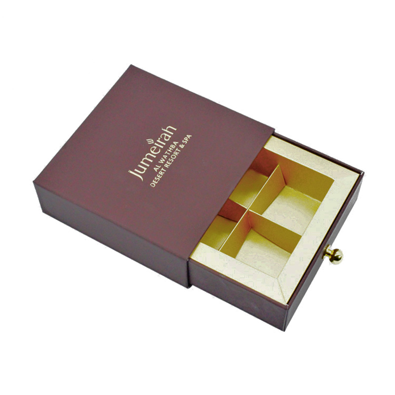 Custom Small Drawer Wedding Chocolate Packaging Boxes