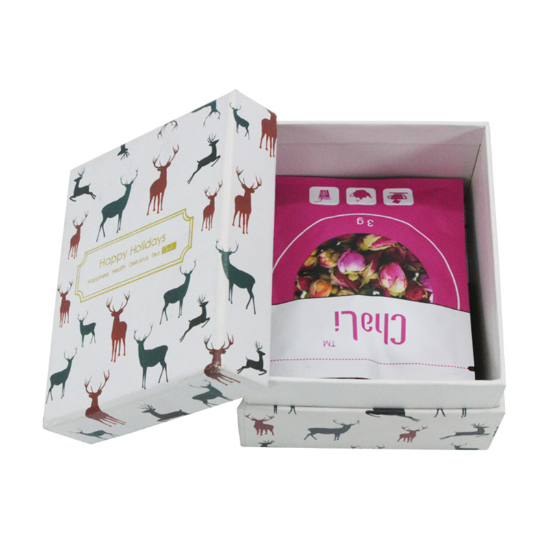 Custom Cardboard Paper Packing Tea Bag Packaging Box