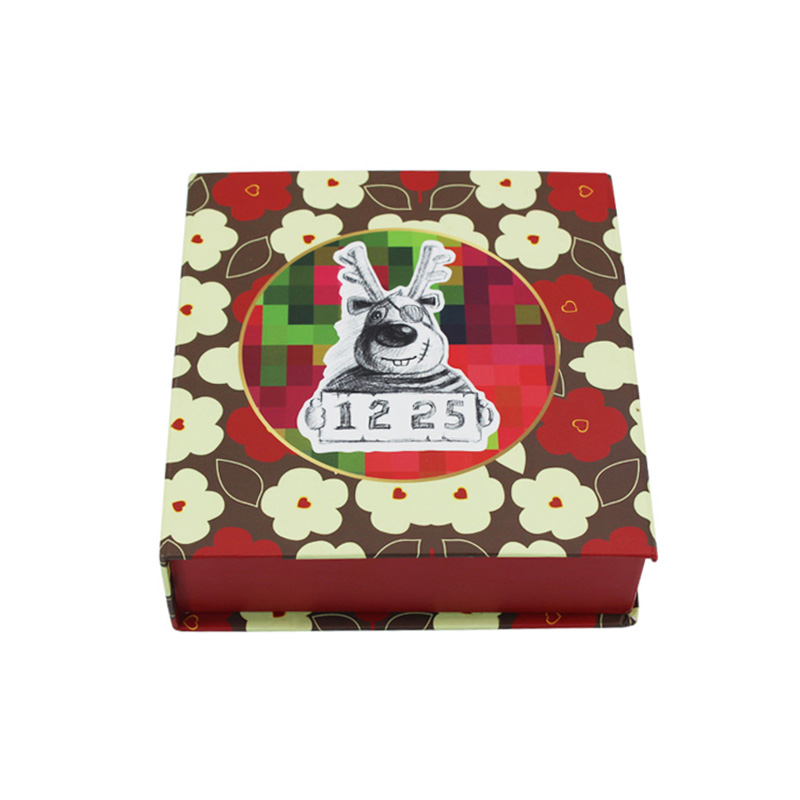 Wholesale Paper Decoration Merry Christmas Candy Present Gift Box Details List