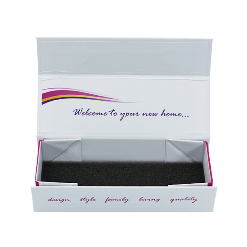 Lunch Custom Small Magnetic Foldable Storage Gift Packaging Box