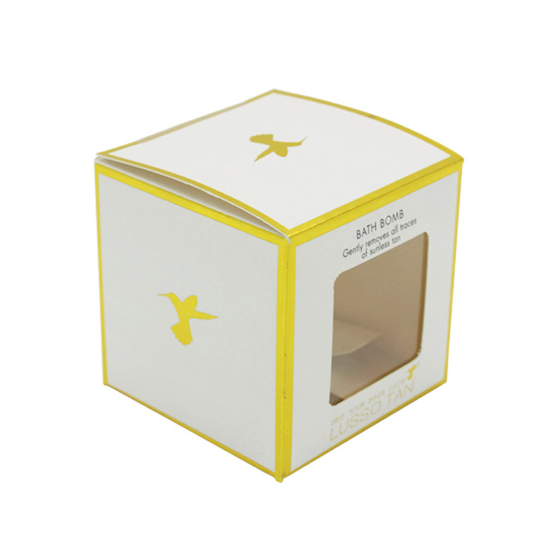 Paper Empty Soft Cosmetic Face Cream Skincare Packaging Box
