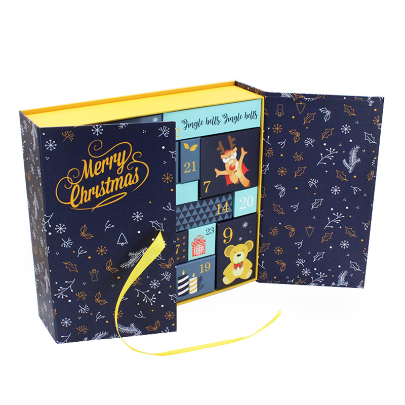 Chocolate Christmas Festival Advent Calendar Packaging Box