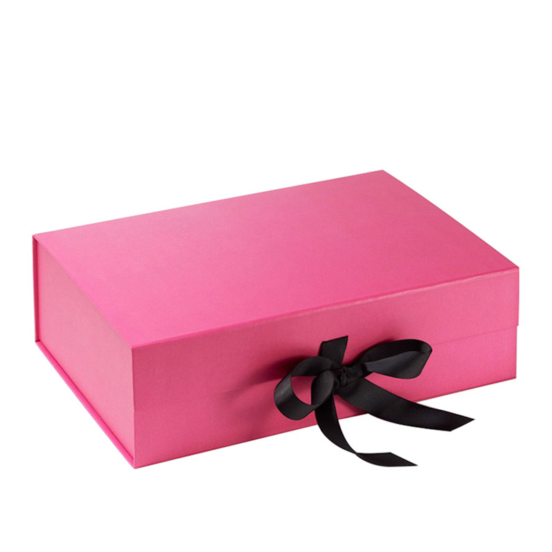 Custom Luxury With Ribbon Jewelry Gift Packaging Box