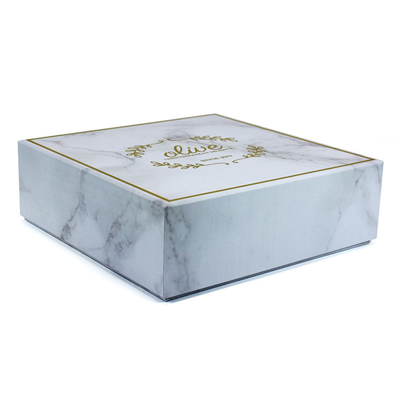 Wholesale Custom Logo Eco Friendly Paper Marble Jewelry Box