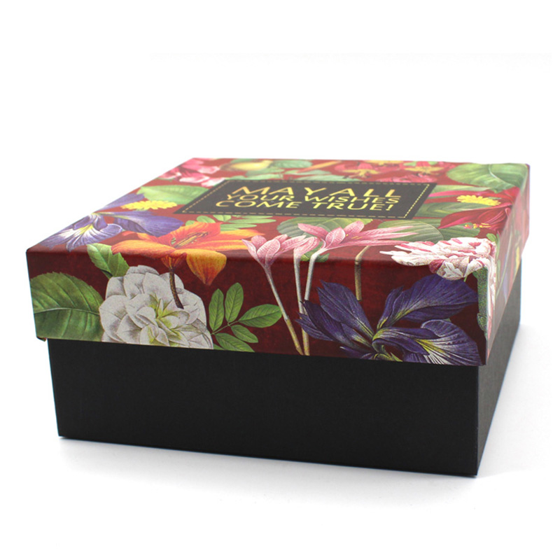 Accept Custom Thanksgiving Packaging Paper Cosmetic Gift Box