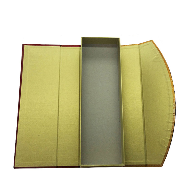 Luxury Cardboard Foil Stamping Wine Bottle Gift Packaging Boxes