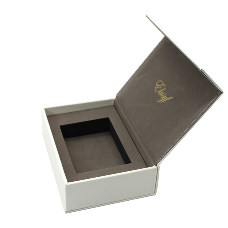 Luxury Magnet Cardboard Leather Gift Wallets Packaging Box