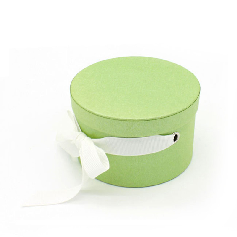 Wholesale New Design Handmade Paper Ribbon Cylinder Jewelry Box