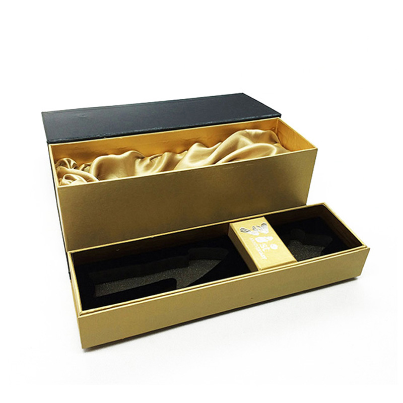 Custom Cardboard With Lid Dispenser Gift Magnum Wine Box
