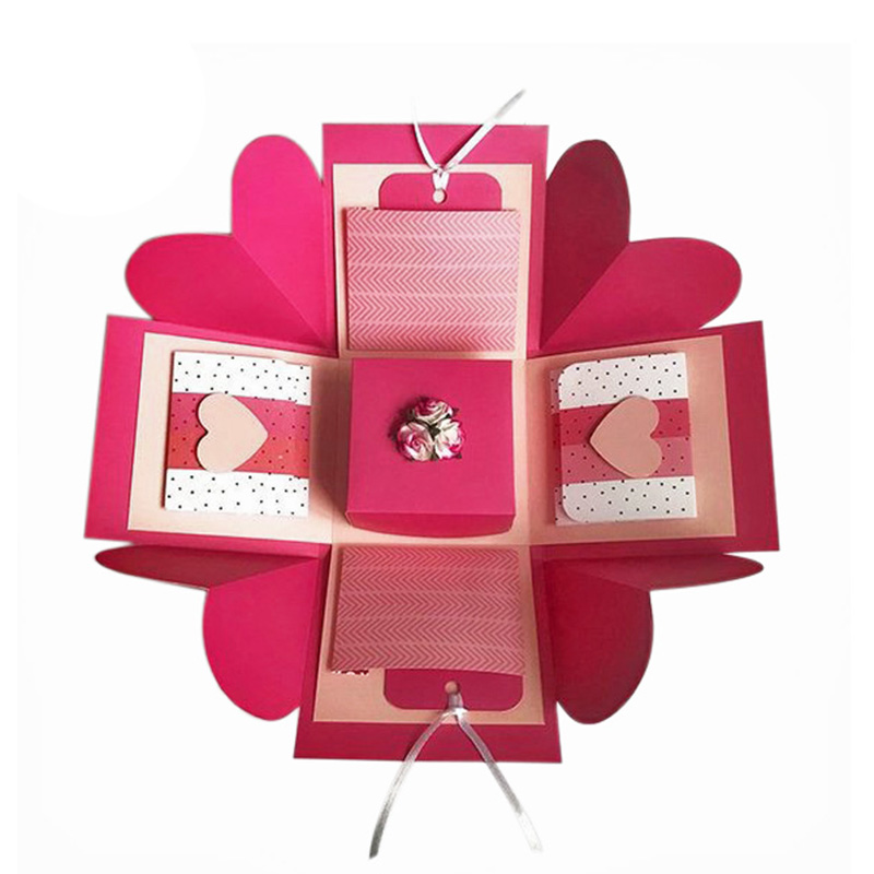 For Birthday Love Surprised Explosion Gift Packaging Box