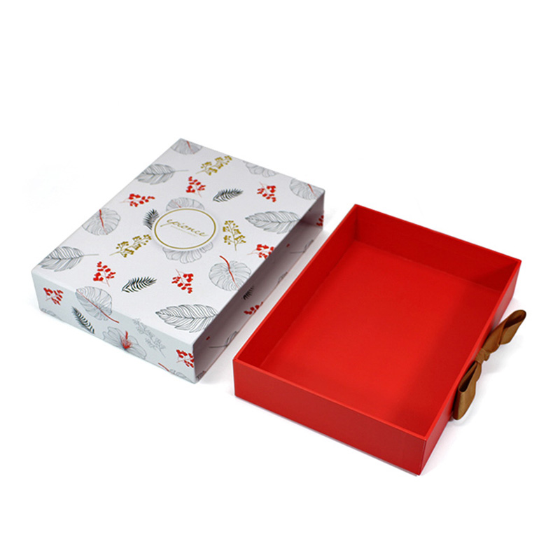 New Year Drawer Cardboard Storage Wallet Gift Packaging Box