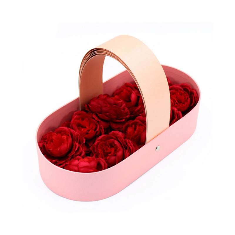 New High Quality Valentine's Day Basket Rose Flower Box