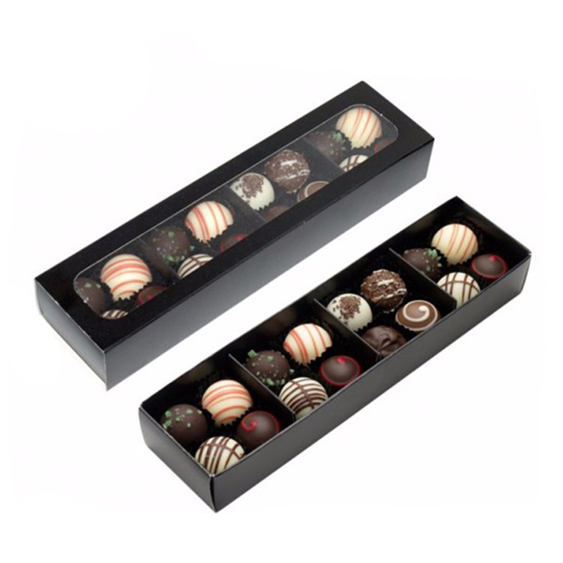 With Insert Mini Packaging Gift Chocolate Box With Die Cut