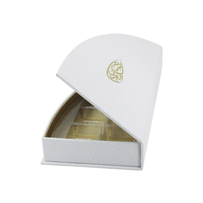 With Magnet Lining Paper Compartment Box Packaging For Chocolate